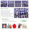Polar Fleece Blend Stretch Soft Shell Fabric for Sports Wear