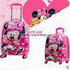 Cartoon 4 Wheels Suitcase for Kids Wheeled Children Rolling Luggage