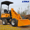Brand New Four Wheel Dive Mini Front Wheel Loader Price