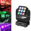 9 10W RGBW CREE LED Moving Head Beam Light