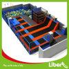 Open Indoor Trampoline Centre Trampoline Park with Basketball Hoop