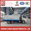Dongfeng Crane Bucket Garbage Truck 6 Cbm 4*2 Garbage Truck Refuse Vehicle