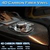 New Product 4D Stickers Carbon Fiber Vinyl Film for Car