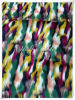 Muti Color Jacquard Fake Fur
