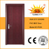 New Design Interior Wood MDF Door PVC Film (SC-P039)
