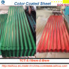 Galvanized Steel Corrugated Roofing Sheet, PPGI Roofing Sheet (0.125mm-0.8mm)