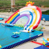 Removable Water Park Sport Toys Inflatable Jumping Water Slide
