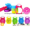 Unbreakable Fluorescent Color Home Decoration Twin Bell Silicone Desk Alarm Clock