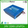 24V 10ah LiFePO4 Battery Pack for E-Bike