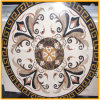 Natural Water Jet Marble Floor Medallions, Marble Medallion
