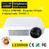 LED Mini 3D Portable TV Projector for Education Use