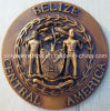 3D Relief Polyresin Plate with Central America Words