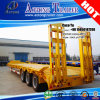 China Manufacturer 60t Excavator Low Bed Trailer for Bahrain