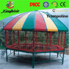 Latest Hexagonal Sport Trampoline with Tent