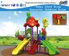 Cartoon Animals Primary School Playground with Slide Hf16702