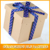 fashion Design of Paper Gift Package Box with Ribbon