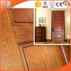 Round-Top Solid Red Oak Wood Interior Door Customized Hinged Door Wooden Door, Highly Praised Chinese Wood Door