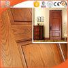 Round-Top Solid Red Oak Wood Interior Door Customized Hinged Door Wooden Door, Highly Praised Chinese Wood Door