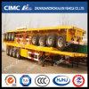 Cimc Huajun 40FT 4axle Flatbed Semi Trailer