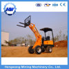 Mini Wheel Loader with Backhoe Machine Gold Digger Mini Wheel Loader