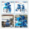 Fully Automatic and Basic Automatic Concrete Block Machine (JS500 mixer)