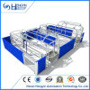 Reversible Farrowing Crate for Pig Farms