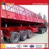 Side Tipping Semi Box Cargo Trailer