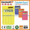 8 Digits Dual Power Small Pocket Calculator with Various Optional Colors (LC395A)