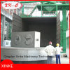 Pump Spare Parts Turntable Shot Blasting Machine