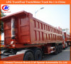 Heavy Duty Tri-Axle 35cbm End Tipper/Dump Truck Trailer