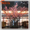 Indoor Ornament Artificial Silk Flower Cherry Blossom Tree