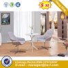 Modern Steel Metal Base Fabric Upholstery Leisure Chair (HX-sn8016)