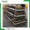 Luxury Supermarket Wine Gondola Shelving Rack