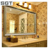 4mm Environmental Friendly Copper Free Decoration Bathroom Silver Mirror