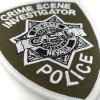 Embroidered Shield Shoulder Badge Woven Label for Police Clothes