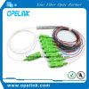 Gpon, Epon Telecommunication Fiber Optic 1X2/4/8 PLC Splitter