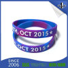 Custom Colorful Printed Silicone Wristband Rubber Bracelet