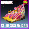 Princess children dry inflatable slide outdoor use