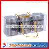 3pc Stainless Steel Jar in PVC Box