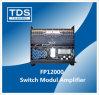 2 CH Power Amplifier Efficiency (FP12000) with 2200W