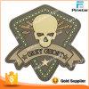 Custom Made Logo Gratefull Dead Gray Ghost 3D PVC Patch