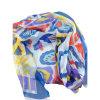 100% Chiffon Printed Silk Crinkle Shawl (AFS1000080)