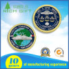 Customized Double Side Logo Coin with Globle Map