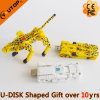 Leopard Deformable USB Flash Drive for Corperation Gift (YT-3707-02)
