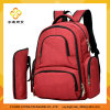 Red Multifunction Double Shoulder Mom Bag
