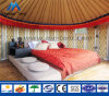 Waterproof Canvas Family Living Bamboo Mongolian Yurt Tent