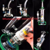 Colorful Amercian Color Glass Water Pipe Smking Pipe 18mm Male Joint DAB Rigs