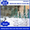 20t Per 24hours Wheat Flour Mill Grinding Machine