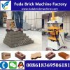 Hydraulic Pressure Qt1-10 Logo Solid Brick Machine/Soil Mud Brick Machine