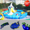 Shark Slide Theme Inflatable Water Park Equipment with Ce Blower